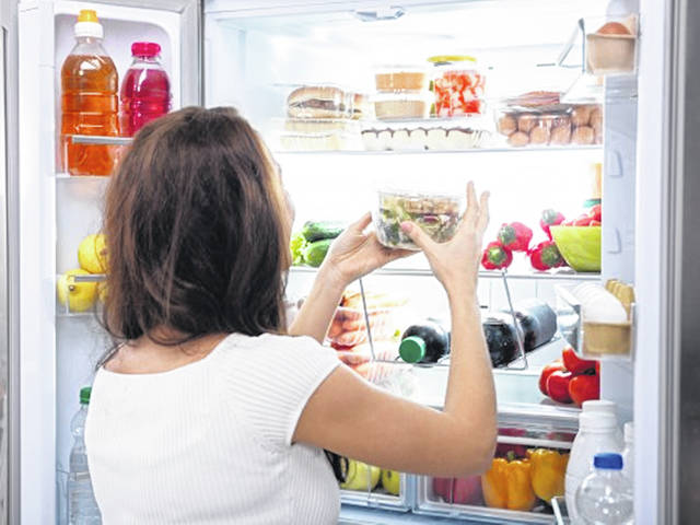 Set aside time each week to clean and take an inventory of your fridge and freezer.