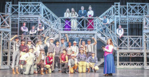 Graham to stage musical 'Newsies'