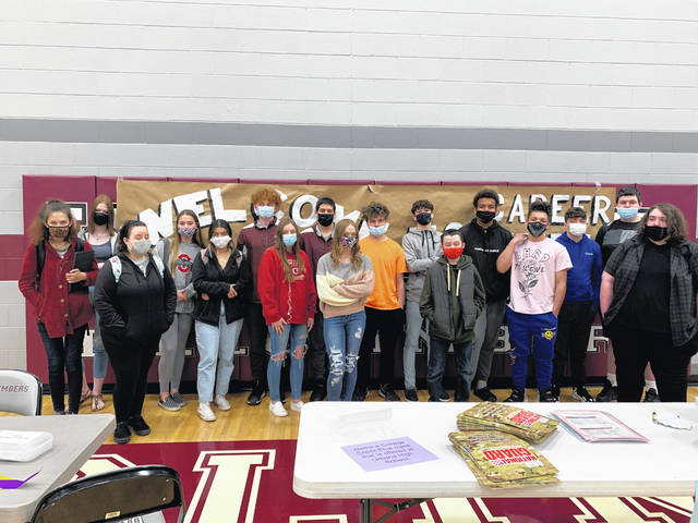 UHS CBI students are shown above.