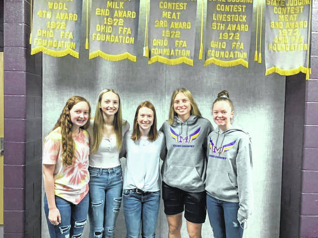 In the state Meats Evaluation contest the team won the whole contest, and Natalie Tull from the Burg placed first individually. Grace Forrest placed third, August Hartley placed fourth, Taylor Rausch placed ninth and Jenna Tull placed 10th.