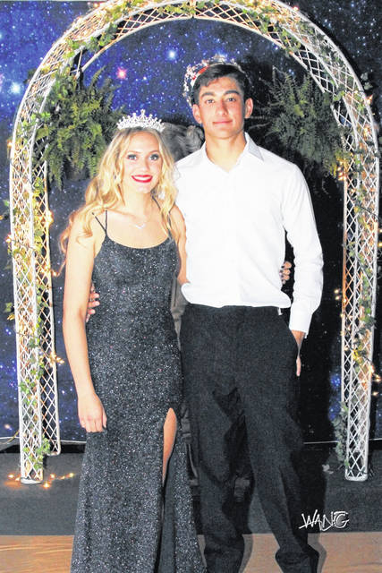 Pictured are WL-S Prom Queen Hannah Bowman and King Hayden Phillips.