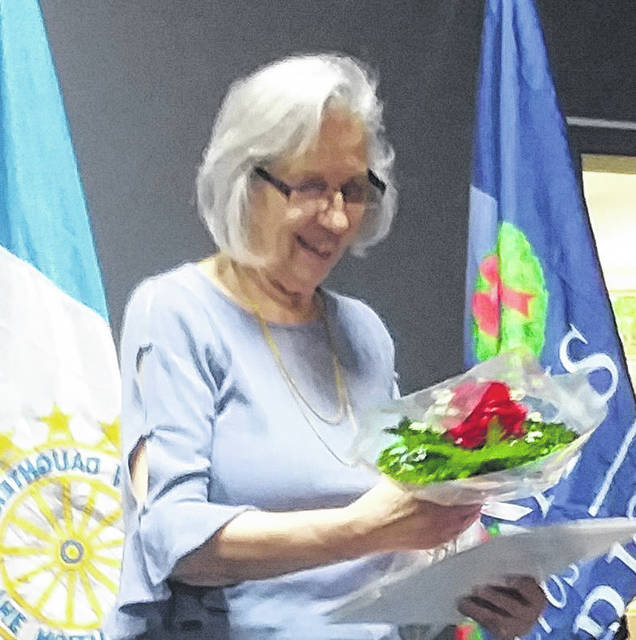 Lynda Berube was officially installed and welcomed as a new DAR member.