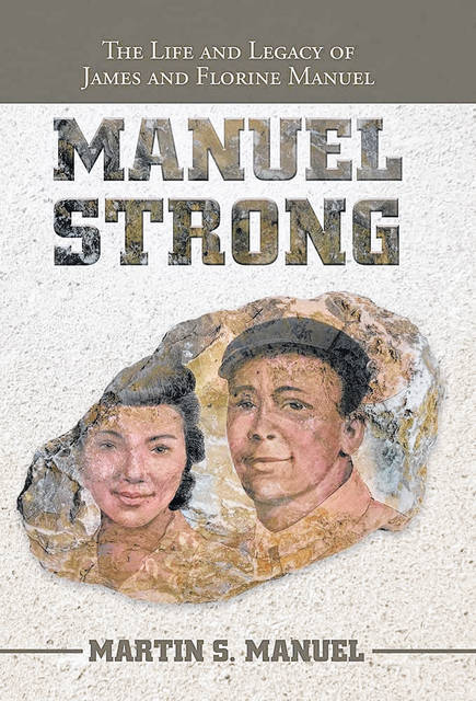"""""""Manuel Strong"""" tells the story of James and Florine establishing their life together in Urbana and Springfield. According to a Manuel family member, local artist Mike Major assisted with the book cover's image."""