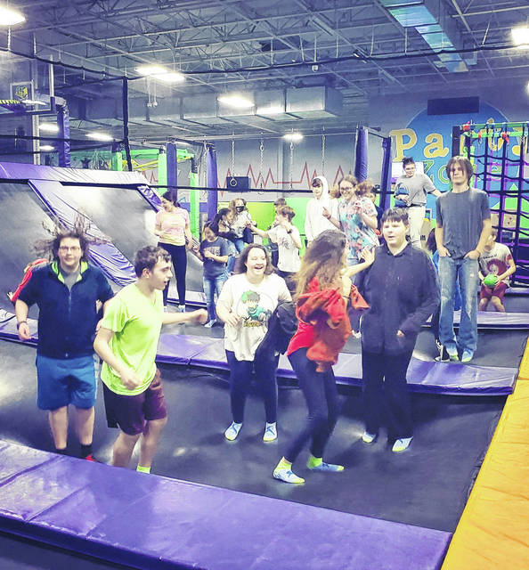 Urbana Youth Center participants enjoyed a trip to Get Air trampoline park in Columbus recently.