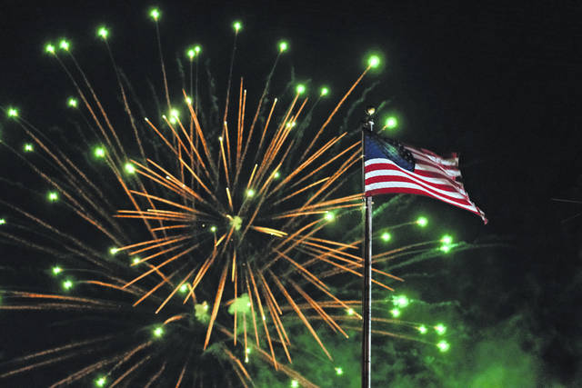 Summer celebrations for July 4 have spanned three weekends, starting with villages on the west end of the county hosting events during the final weekend of June. Events continued with the Grimes Field celebration (pictured) above on July 4 and will finish with the Mechanicsburg Summer Celebration this Saturday.