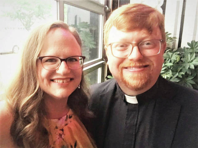 Rev. Derrick Fetz is returning to Urbana with his wife Jamie and daughter Mari.