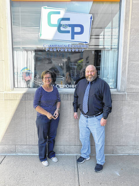 Current CEP Executive Director, Marcia Bailey along with incoming Executive Director, Richard Ebert. Bailey is set to retire at the end of 2021.