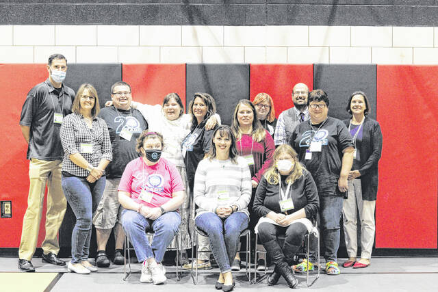The Champaign County Board of Developmental Disabilities, individuals served by the board and Creative Foundations, attended a conference on September 24 in Miami County.