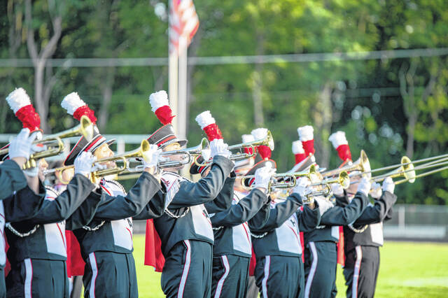 According to <strong>updated</strong> information from the Graham Band Parents leadership, the Dancin' Band from Falconland will host its 49th annual marching band festival on Saturday, Sept. 18. An incorrect date was provided to the newspaper by the organization and that incorrect date appeared in an earlier post. Gates open at 6 p.m. and the show starts at 7 p.m. Admission price is $7. Bands performing will be from Urbana, Mechanicsburg, West Liberty-Salem, Miami East, Springfield and Graham.