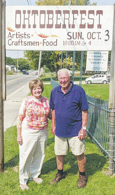 Sandy Gonzalez and Dick Virts (pictured), co-chairs of the Oktoberfest Committee, ask that you save the date of October 3 to attend the 49th annual Oktoberfest at 809 East Lawn Avenue in Urbana. Look for more details about the event in the coming weeks.
