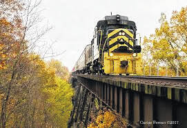 The CCPA train ride will be held October 17.