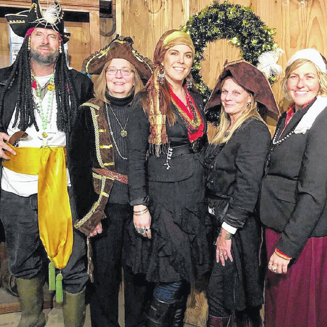 Pictured is the Freshwater Farms Halloween Bash Crew.