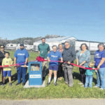 Little Free Library Ribbon Cutting Ceremony