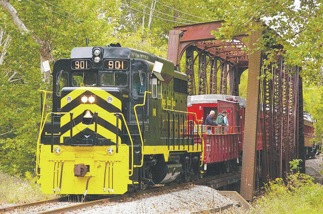 The Champaign County Preservation Alliance will hold its annual train trip on Oct. 17.