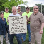 Heise Park's namesake detailed with new signage