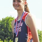 Gwinner places 3rd in OHSAA high jump finals