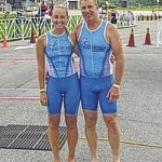 Chipkas compete in Maumee Bay Triathlon
