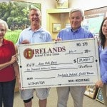Firelands Federal Credit Union donates to Interactive Tree Project