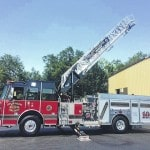 New agreement for fire truck?