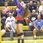 Highland volleyball hits milestone in three-set win over Northmor Tuesday