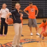 Galion girls basketball team holds youth camp