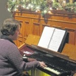 Galion woman enjoys organist role at historic Bellville church