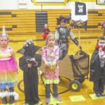 Colonel Crawford youth celebrate Halloween