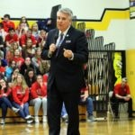 Gallery: Dom Tiberi delivers Maria's Message at Colonel Crawford: Photos by Erin Miller
