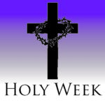 Holy Week events schedule