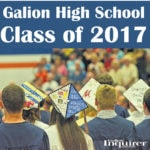 Galion High School Class of 2017 grad tab in today's Inquirer