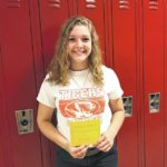 Ashlie Sallee is GHS Student of the Month