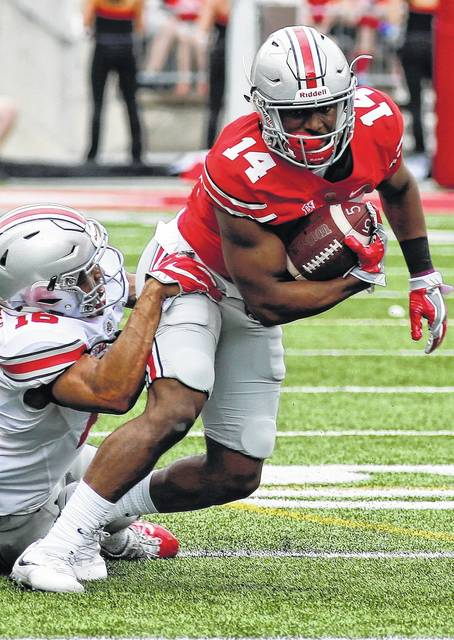 Meyer talks up depth of OSU receivers days before Thursday's