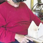 Galion man raising his spirits by making miniature barns