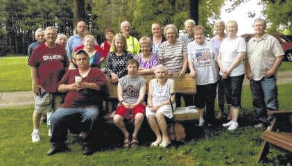Submitted photo The annual Corwin Reunion 2017 was held at the home of Ed and DeeAnn Speece of Bucyrus. Relatives are the decendants of the late Paul and Bertha Corwin of Galion. Ed Speece is the son of their eldest daughter, the late Betty Corwin Speece of New Winchester. Thirty-six people attended the reunion from Bucyrus, Galion, Mount Gilead, Nevada, Oceola, Poland, Marion, Canfield, and Lewis Center, Ohio. All enjoyed an afternoon of reminiscing and a pot luck dinner.