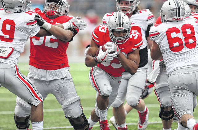 No Answer To Ohio State Quarterback Battle After Saturday S Spring