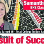 Bucyrus High School's Samantha Murtiff found college courses rewarding