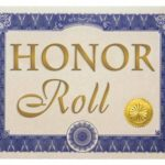 Bucyrus Middle School honor rolls