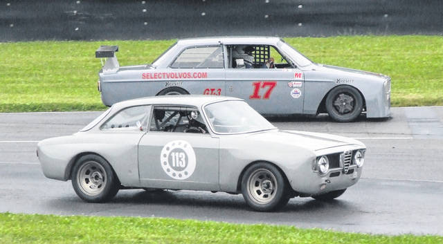 Vintage cars took to Mid-Ohio Sports Car Course June 21-24 for the Vintage Grand Prix.