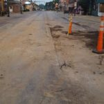 Broken water line fixed; street repairs still to come