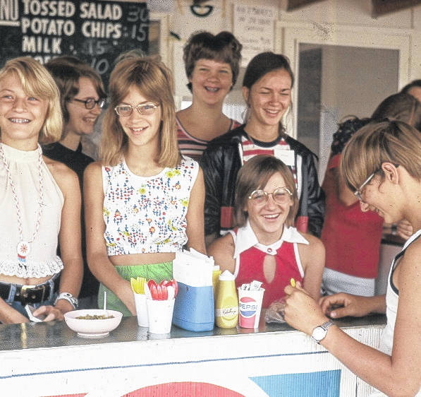 Courtesy photo The 4-H food stand at the Crawford County Fair is operated by 4-H member and is a money-maker for the organization. It will see some much-needed improvements before the start of year year's fair
