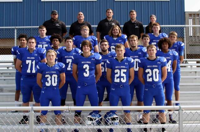 Photo by Jill Dailey of Ellis Studios The 2018 edition of the Crestline Bulldogs football team may be small in numbers but they are optimistic that they can make a run this fall.