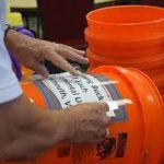 St. Paul United Methodist Church collecting flood buckets for Hurricane Florence victims