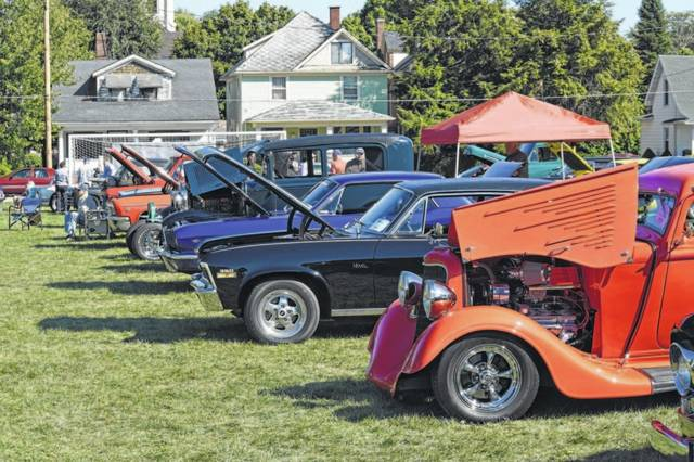 File Photo The Galion Historical Society car show is Sunday from noon to 5 p.m. across the street from the historical society.
