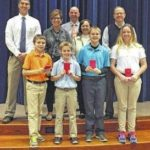 Galion Building Loan's Don Barr, Jody Fraley recognized for helping Galion students