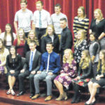 Galion High School National Honor Society induction ceremony Nov. 13