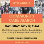 Community Care March is Nov. 3 in Galion