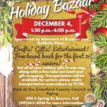 Council on Aging Holiday Bazaar is Dec. 4
