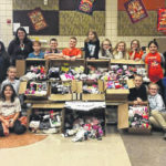 Galion students collect 1,600 pairs of socks