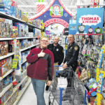 Six Galion kids go shopping with a cop; police pick up the tab at Walmart