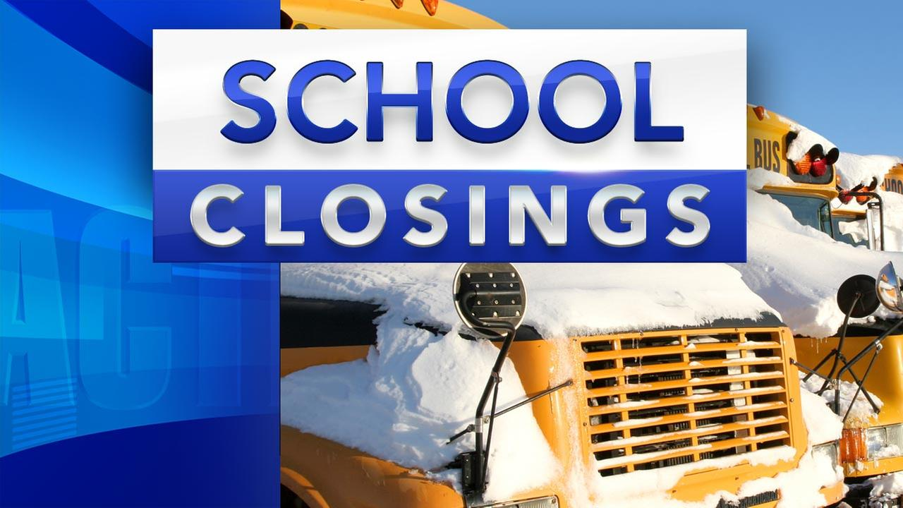 Area schools, some businesses closed today, call before you